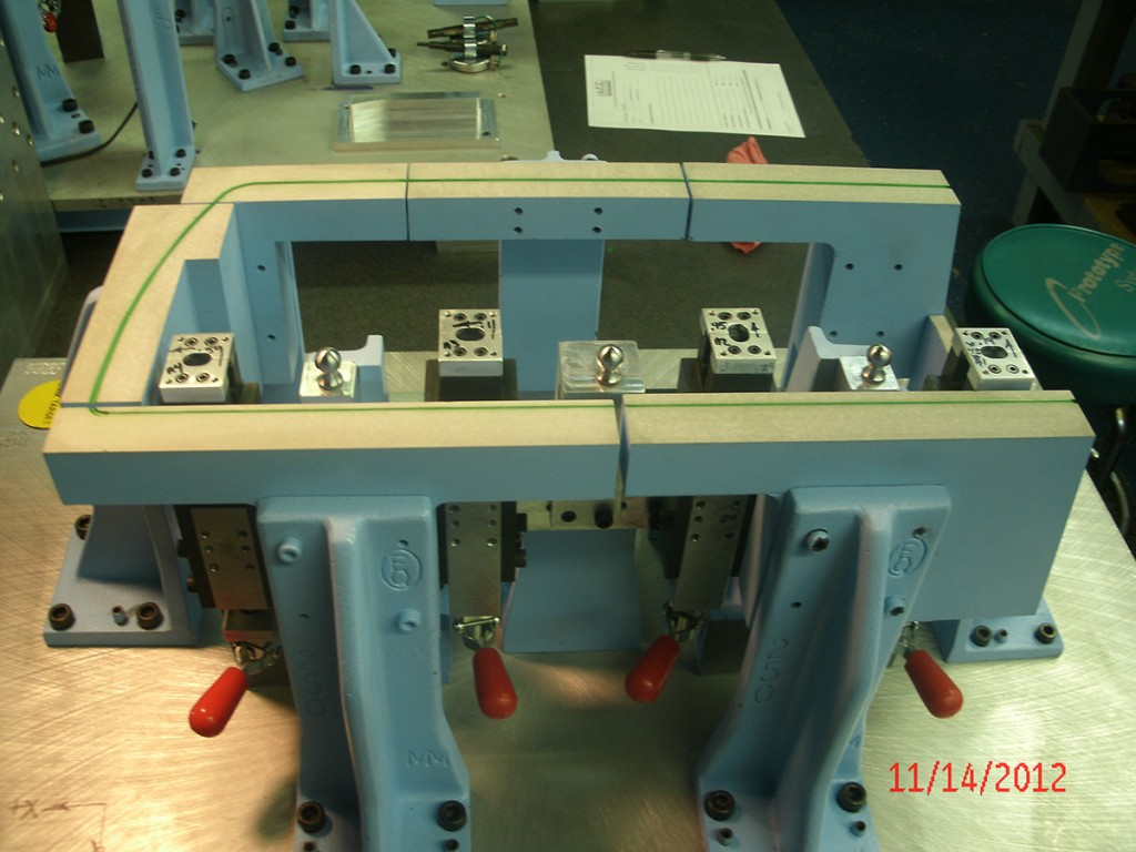 Tooling Floor Panel Attribute Fixture