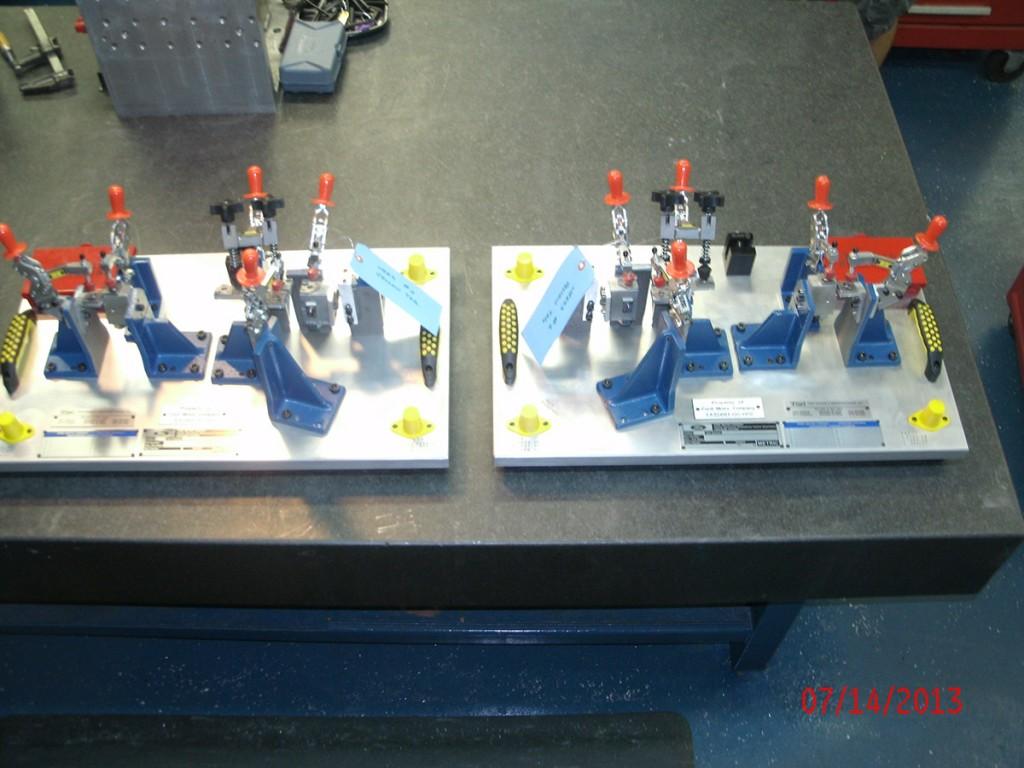 Tooling Interior Trim SPC-CMM Holding Fixture