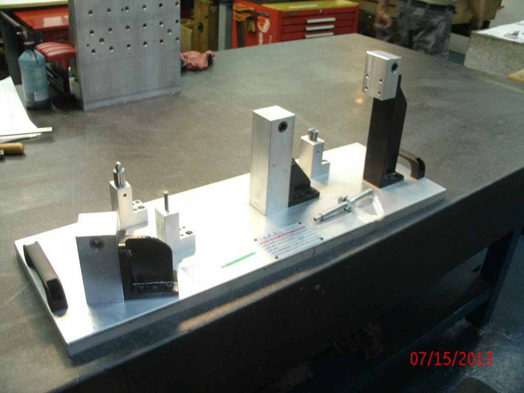 Tooling Prototype Casting Attribute Fixture