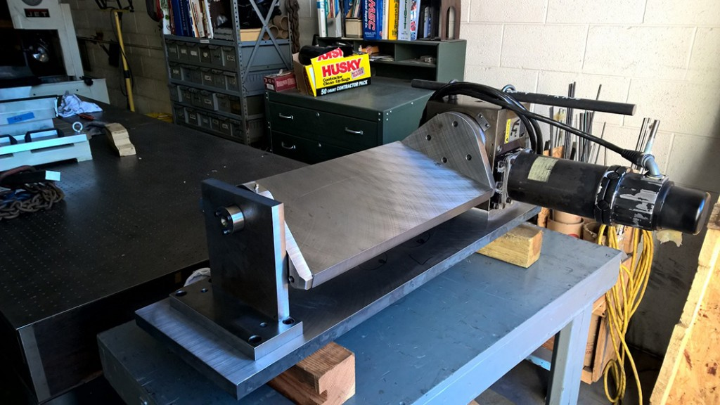 CNC Trunion Fixture