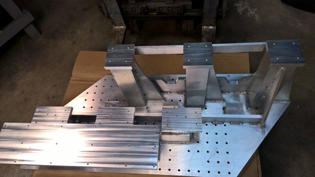 Machined Aluminum Weldment