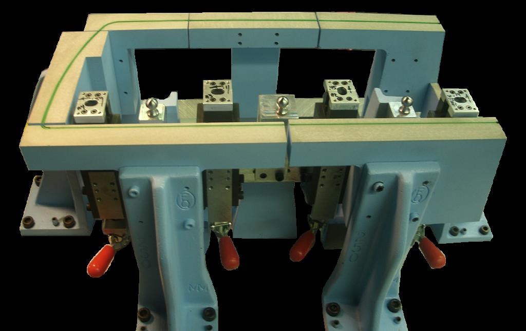Tooling Floor Panel Attribute Fixture