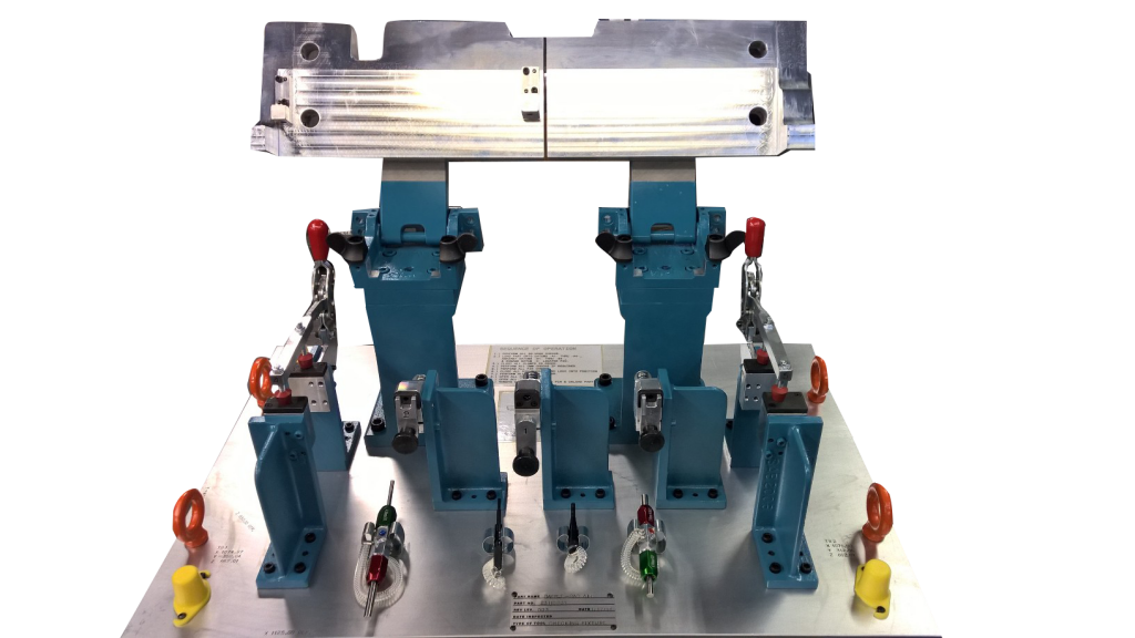 Tooling Radiator Baffle Attribute Fixture