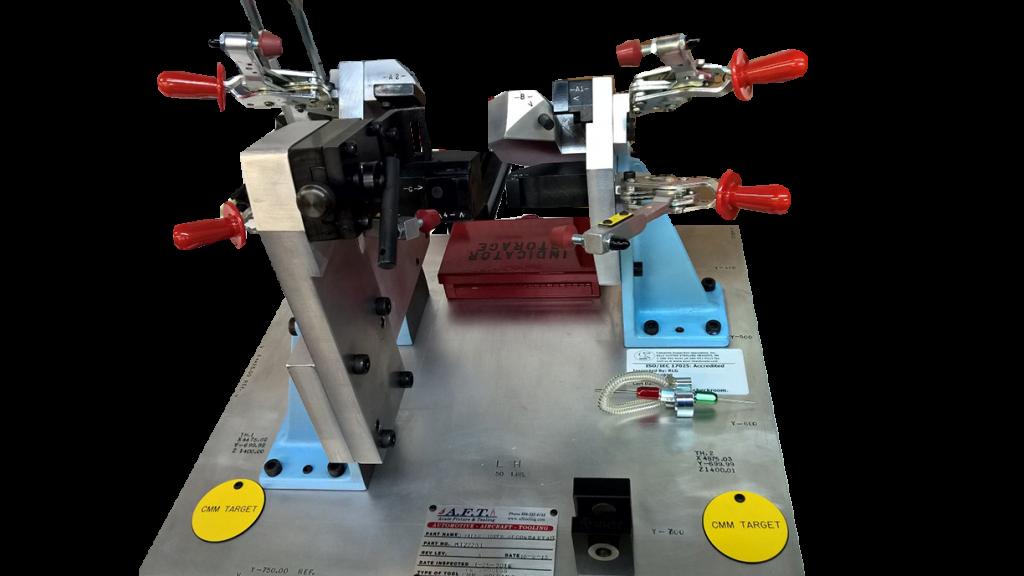 D-Pillar Reinforcement Fixture