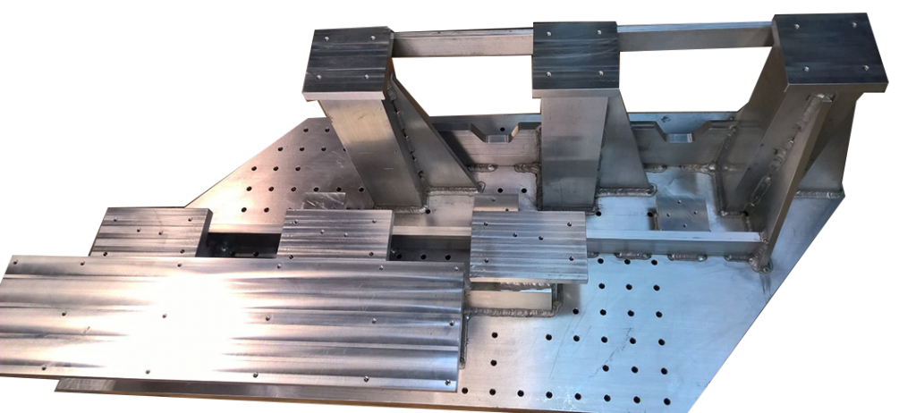 Machined Aluminum Weldment